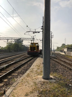 Convogli ferroviari trasporto bramme